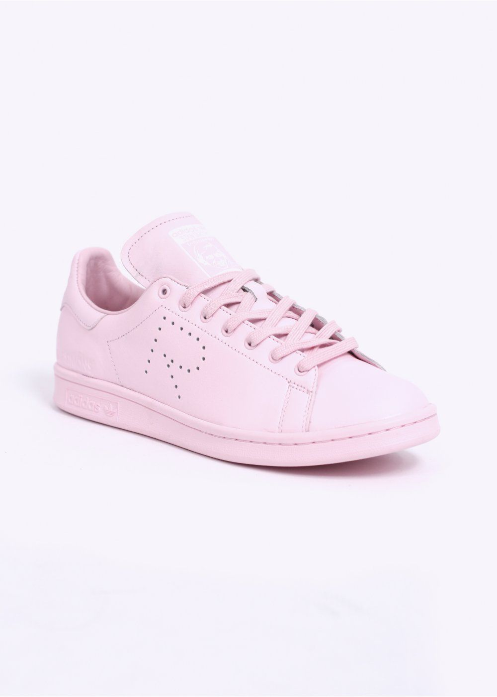 Adidas Originals X Raf Simons STAN SMITH TRAINERS - PINK / WHITE