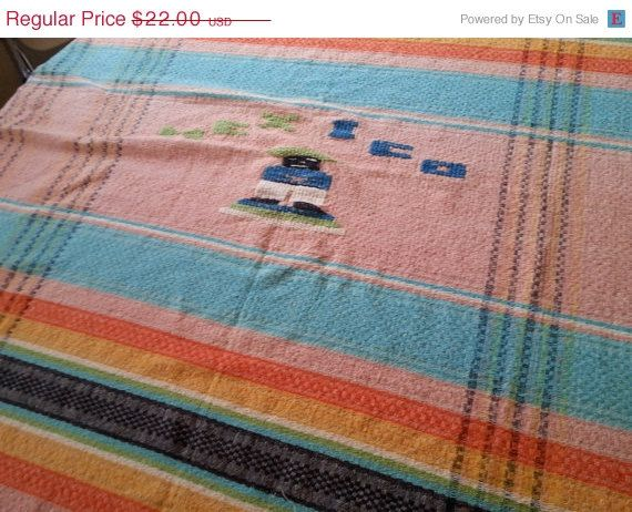 holidays Striped tablecloth in shiny happy sunny by idaboughtthat