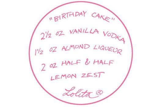 Birthday Cake martini recipe COCKTAILS ANYONE Pinterest Salud