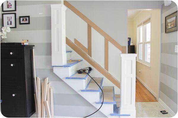 Ayishau0027s Entry Staircase Remodel   The Sawdust Diaries