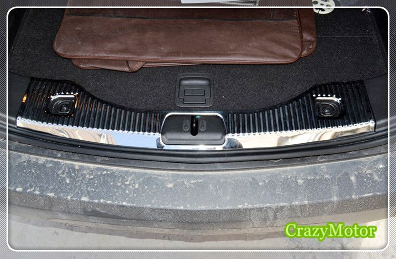 For Vauxhall Opel Mokka 2013 2014 2015 2016 2017 Rear Bumper Protector Sill Trunk Trim Accessories 1pcs C Rear Bumper Protector Opel Mokka Interior Accessories