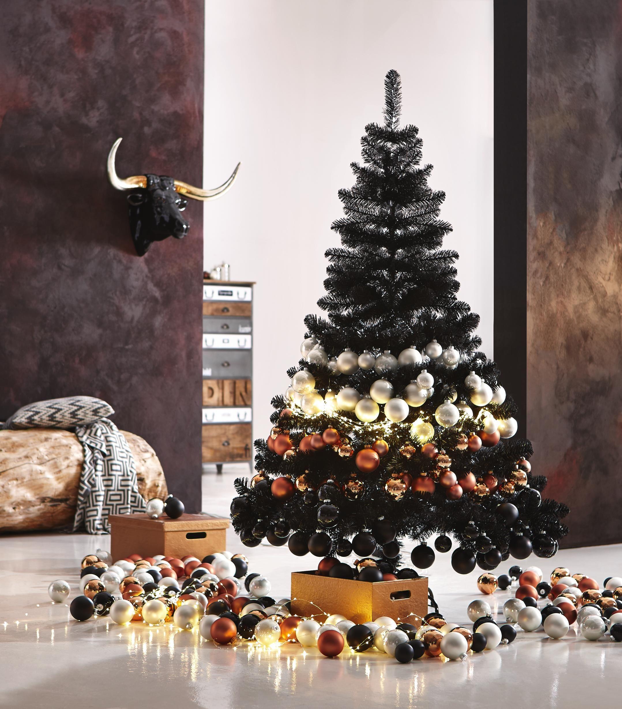 deluxe christmas gold bronze und silber die edlen metalle funktionieren auch in der. Black Bedroom Furniture Sets. Home Design Ideas