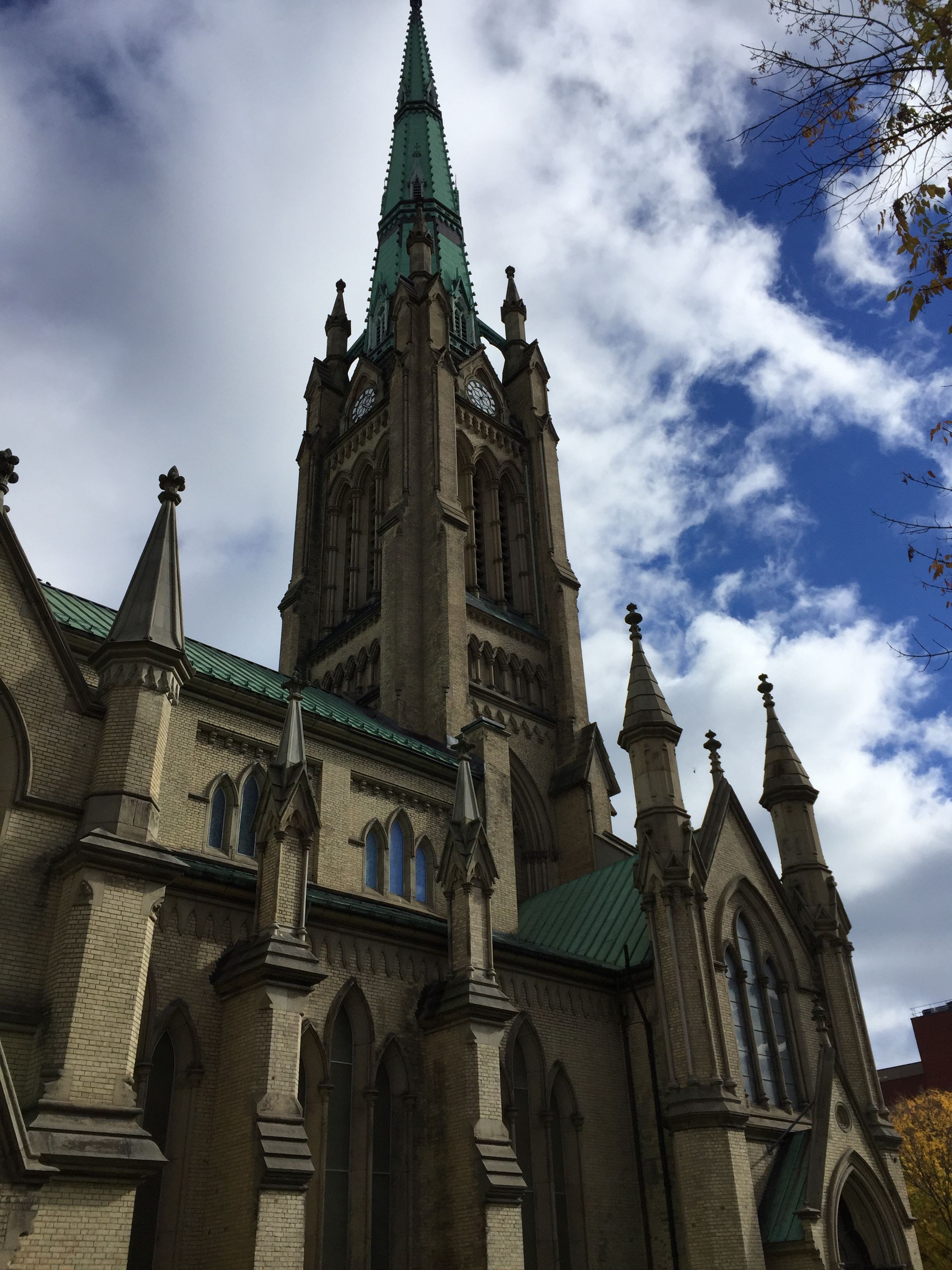 The Church of Canada (Anglican Church) in the Old Town area…