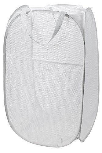 Mesh Pop Up Laundry Hamper White 14 X 24 Easy To O Https