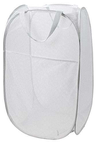 2 Foldable Pop Up Washing Clothes Laundry Basket Bin Hamper