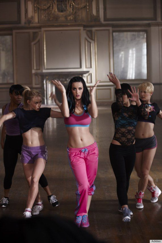 Katy Perry's Adidas ads/video http://huff.to/JPWMaN