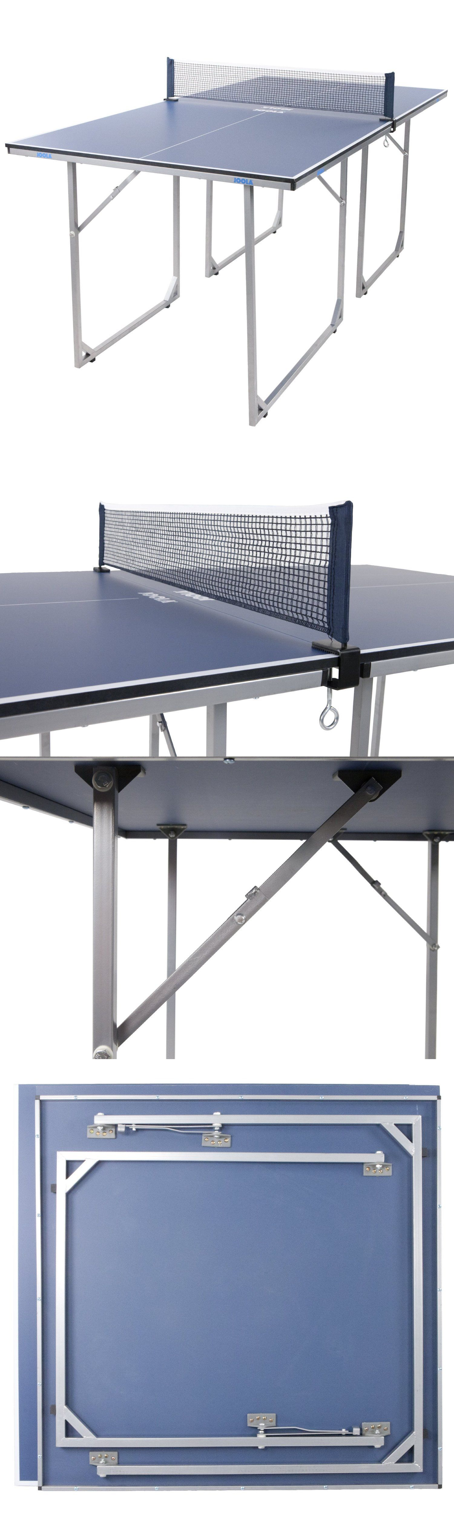 Tables 97075: Conversion Ping Pong Table Tennis Easy Folding Midsize Indoor  Outdoor Fun Play