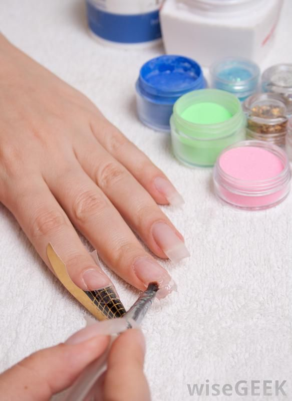 Solar nails are a type of artificial fingernails that are similar to ...