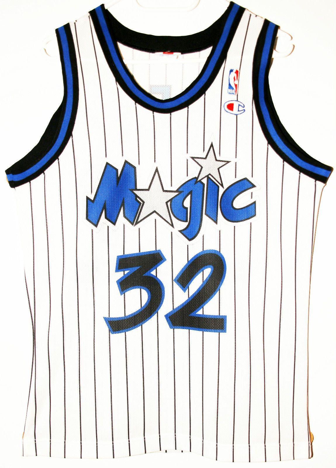 Champion NBA Basketball Orlando Magic #32 Shaquille O'Neal Trikot / Jersey Size S - 47,90€ #nba #basketball #trikot #jersey #ebay #sport #fitness #fanartikel #merchandise #usa #america #fashion #mode #collectable #memorabilia #allbigeverything