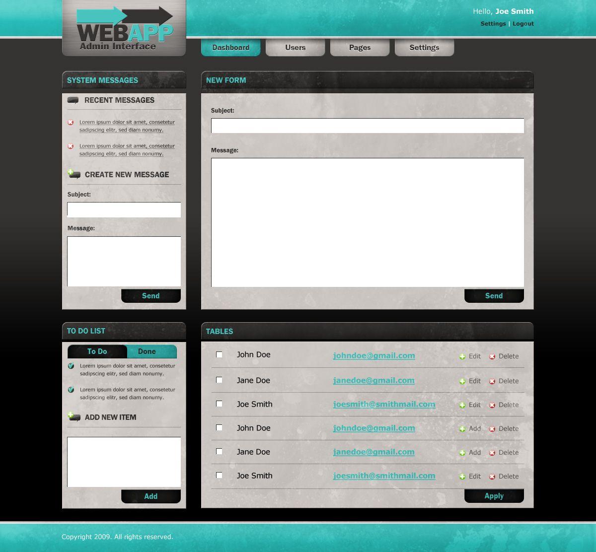 user interface tutorials
