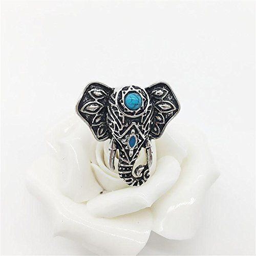 Banggood Lady Large Carved Design Turquoise Elephant Ring... http://www.amazon.com/dp/B01DKI8FCI/ref=cm_sw_r_pi_dp_maetxb1QCKTF3