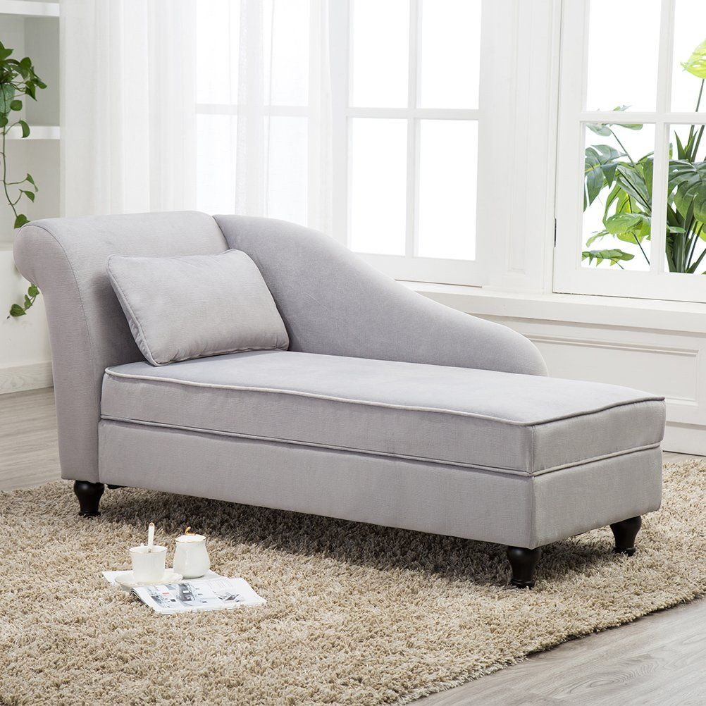 Tongli Chaise Lounge Storage Sofa Chair Couch For Bedroom Or Living Roomgray Want To Know More Clic Modern Chaise Lounge Storage Chaise Chaise Lounge Sofa