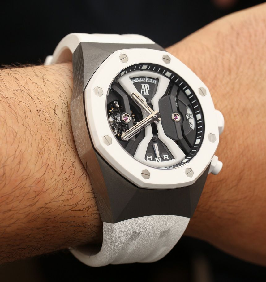 Audemars Piguet Royal Oak Concept Gmt Tourbillon White Ceramic
