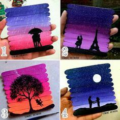 Which One Is Your Favorite Follow Us Dailyart Amazing Artworks By Sominz Artworkz Tag Your Friends Dailyart Popsicle Stick Art Popsicle Art Stick Art
