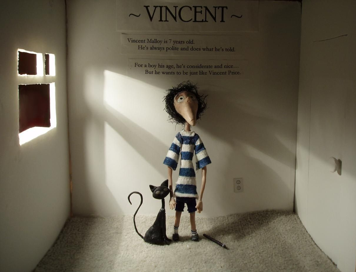 vincent by tim burton essay Vincent tim burton essay - creative writing unisa short course the first page in from class to race: essays in white marxism and black radicalism by charles w.