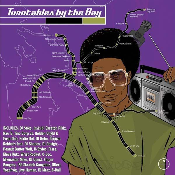 V/A - Turntables By The Bay, CD