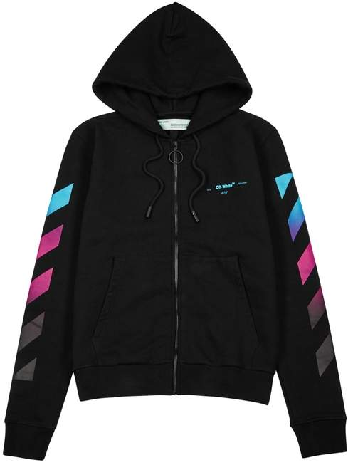 6660355317 Off-White Off White Arrow Back Black Cotton Sweatshirt | Products ...