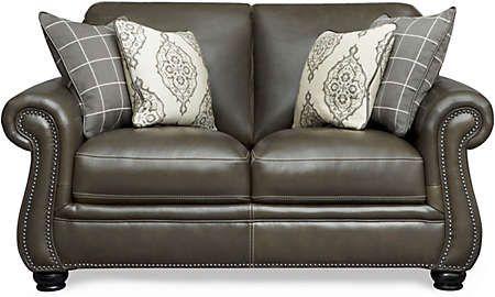 Best Bennett Loveseat Art Van Furniture Love Seat Leather 400 x 300