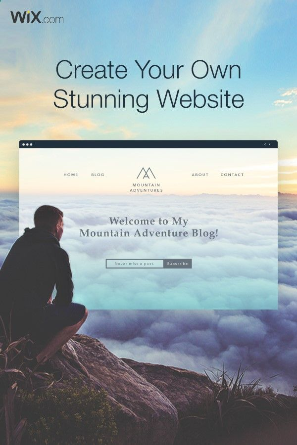 Create Your Free Website With The Wix Free Website Builder The