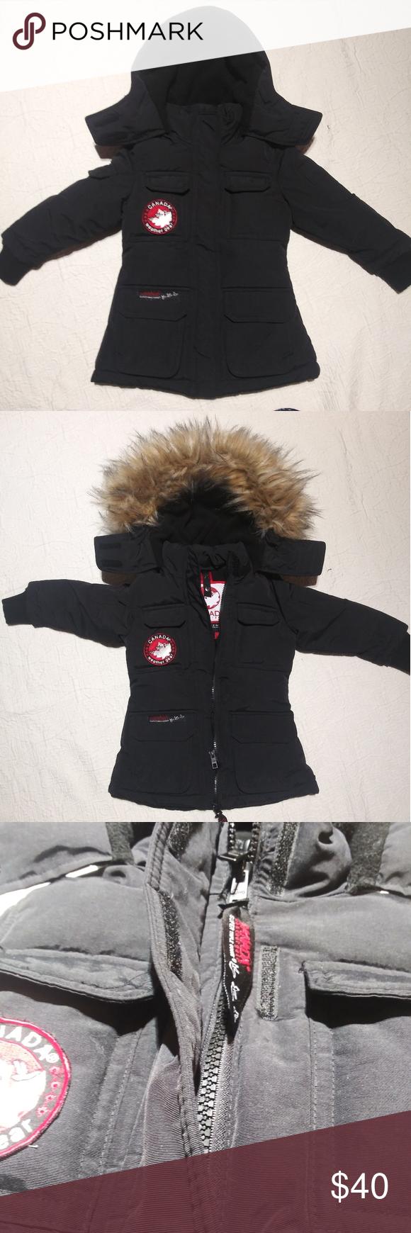 Canada Weather Gear 2t Boy S Triple Goose Coat Goose Coats Clothes Design Coat Canada [ 1740 x 580 Pixel ]