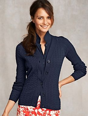 Talbots - Baby Cable Cardi