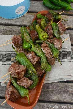 Photo of Tapas – Steak-Pimentos Spieße – Katha-kocht!