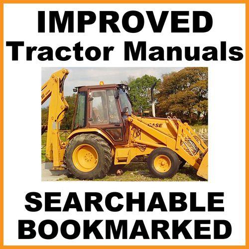 transmission case 580b ck loader backhoe tractor service repair rh pinterest com Case 580B Brake Diagram Case 580 Backhoe