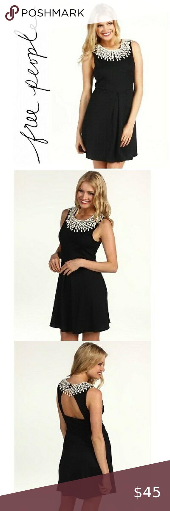 Free People Black Waffle Knit Lace Collar Dress Textured Knit Dress Lace Collar Waffle Knit [ 1740 x 580 Pixel ]