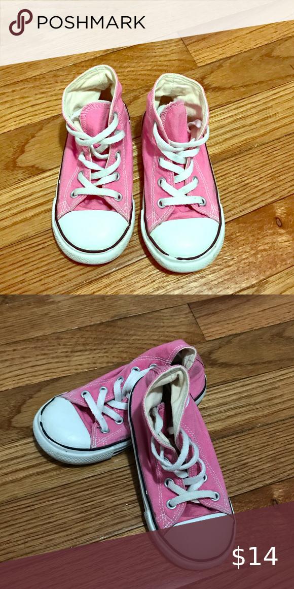 Pink Converse size 8 Toddler Pink