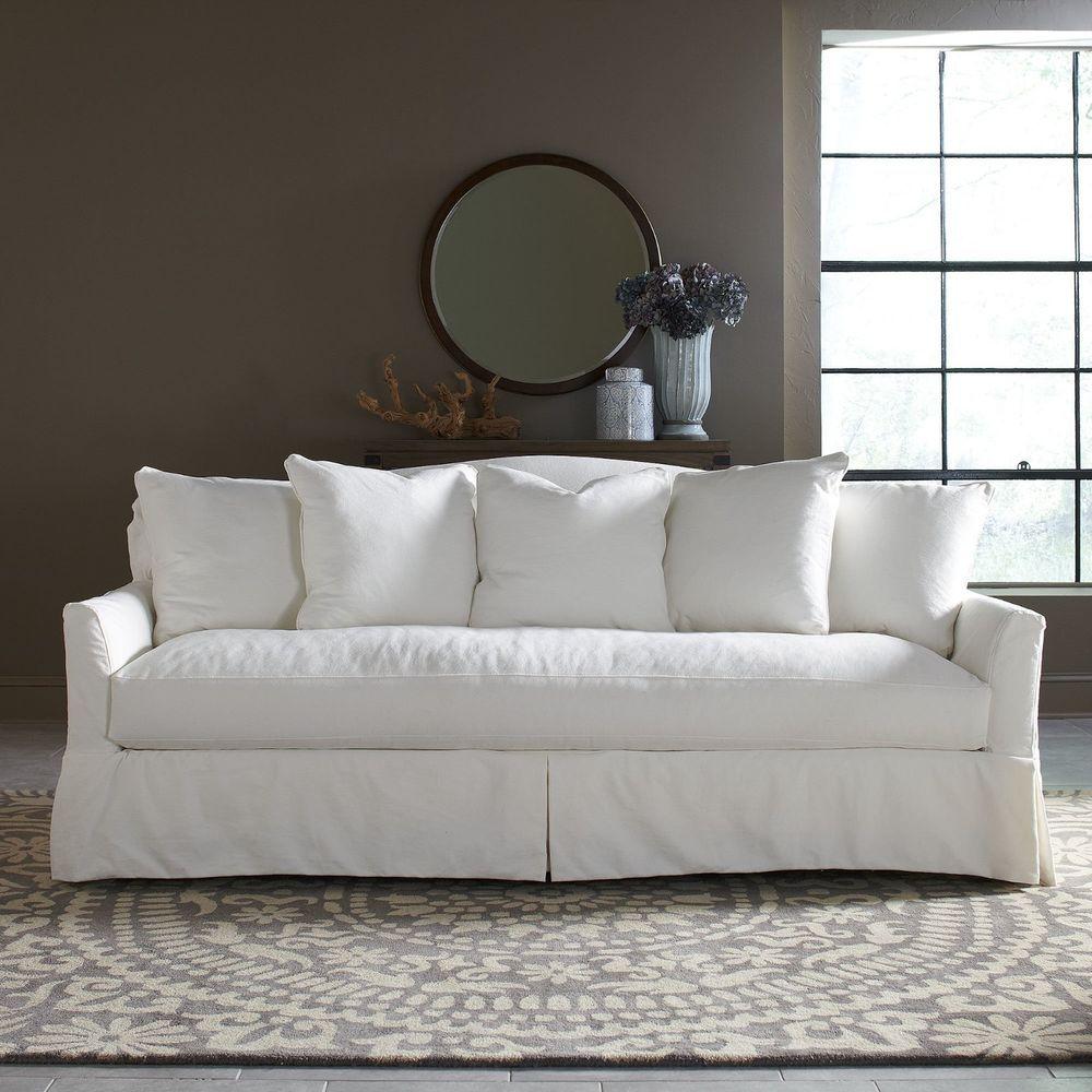 Pin By Marciatreasures On Decor Slipcovered Sofa Sofa White Sofas