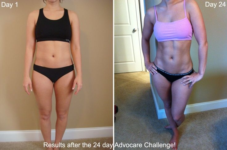 24 Day Difference By Doing The 24 Day Advocare Challenge