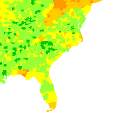 USA and Local National Gas Station Price Heat Map - GasBuddy.com ...