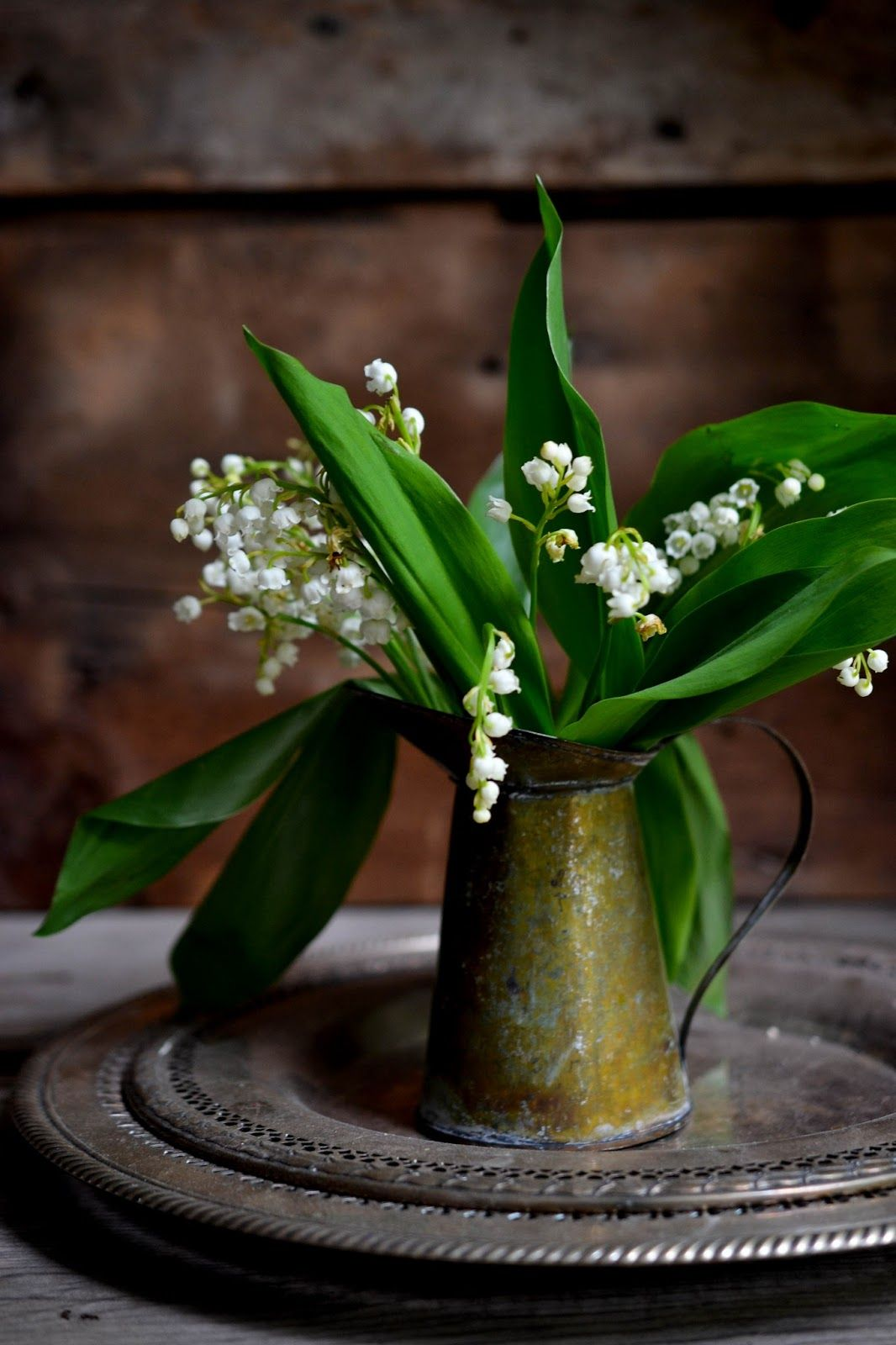 Lily Of The Valley Also Known As Muguet Is One Of Those Precious