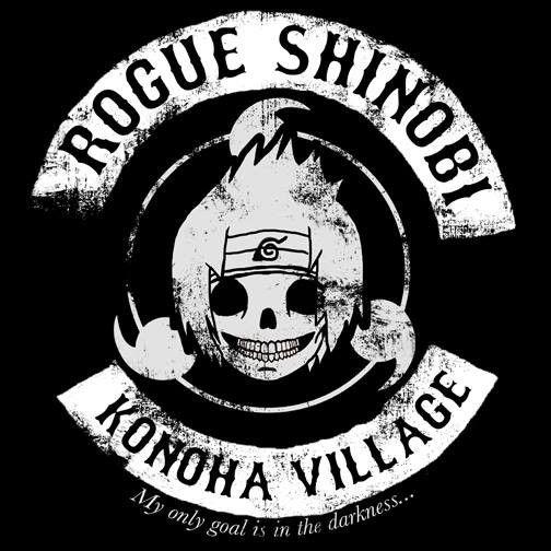 Rogue Shinobi T-Shirt $12.99 Naruto tee at Pop Up Tee!