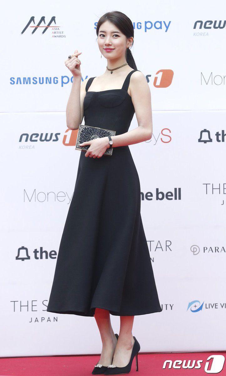 Suzy @ 2017 Asia Artist Awards Red Carpet | suzy | Pinterest