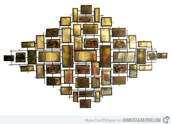 15 modern and contemporary abstract metal wall art sculptures - Metal Wall Art Decor