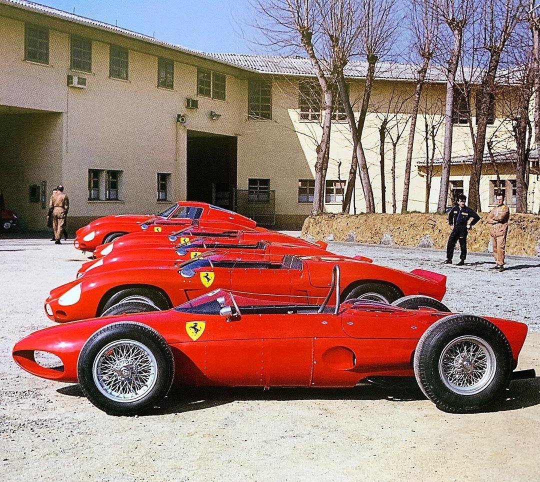 "Gefällt 3,026 Mal, 33 Kommentare - Michael Fisher (@brdcspeedman) auf Instagram: ""Ferrari lineup ..."