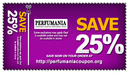 graphic relating to Perfumania Coupon Printable called Perfumania Printable Discount codes Perfumania Coupon Cost-free