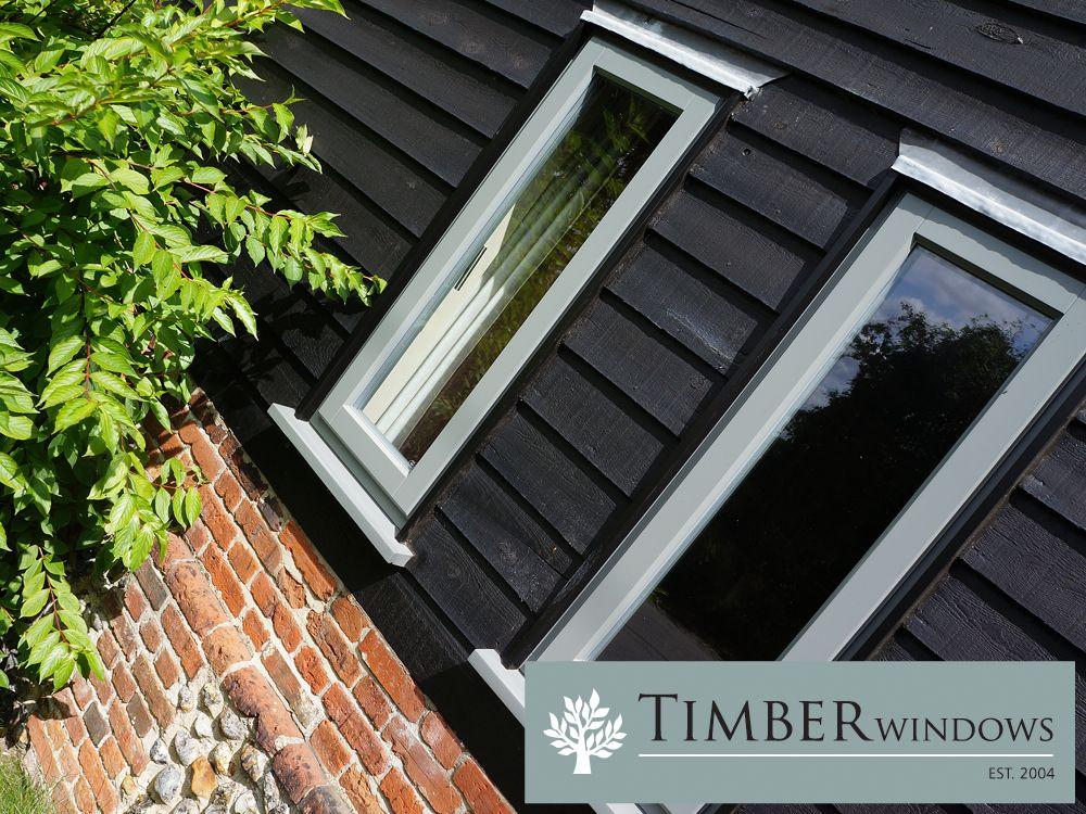 Contemporary Casement Windows & Front Door Front doors