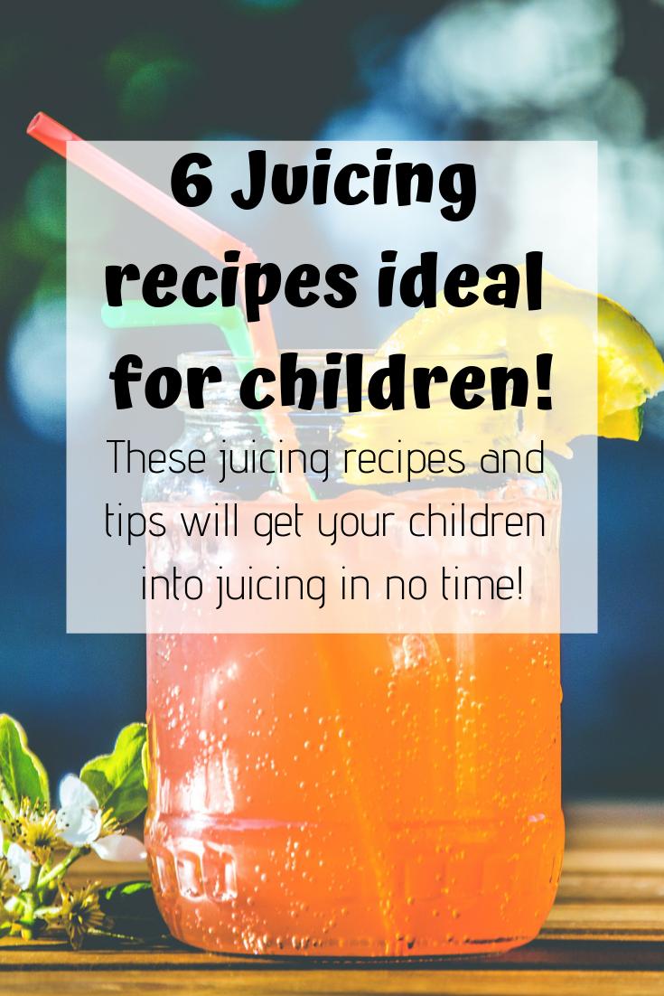 Procurez-vous vos enfants en bonne santé avec eux par juicing! Juicing pour les enfants