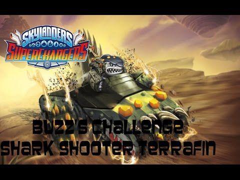 Skylanders SuperChargers - Buzz's Challenge: Shark Shooter Terrafin