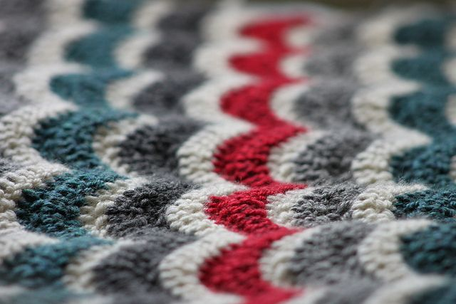 Bean S Ripple Blanket Following Lucy S Ripple Pattern At Attic 24 With Images Crochet Crochet Ripple Crochet Throw