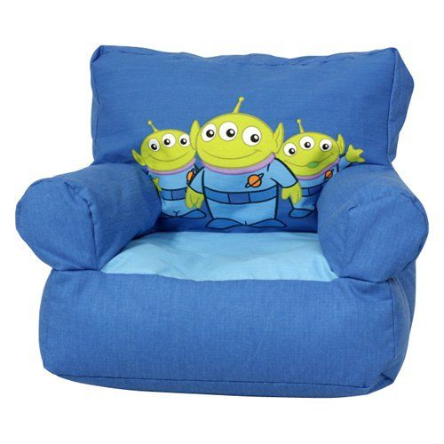Disney Toy Story Aliens Club Chair Bean Bag Bean Bags Toy Story