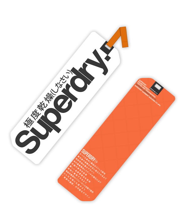Superdry Shirt Tag on Behance TAGS ANS LABELS Clothing