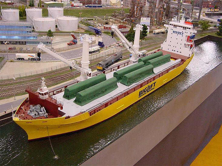 BigLift schip    ook te zien    Scale Models & Dioramas   Model