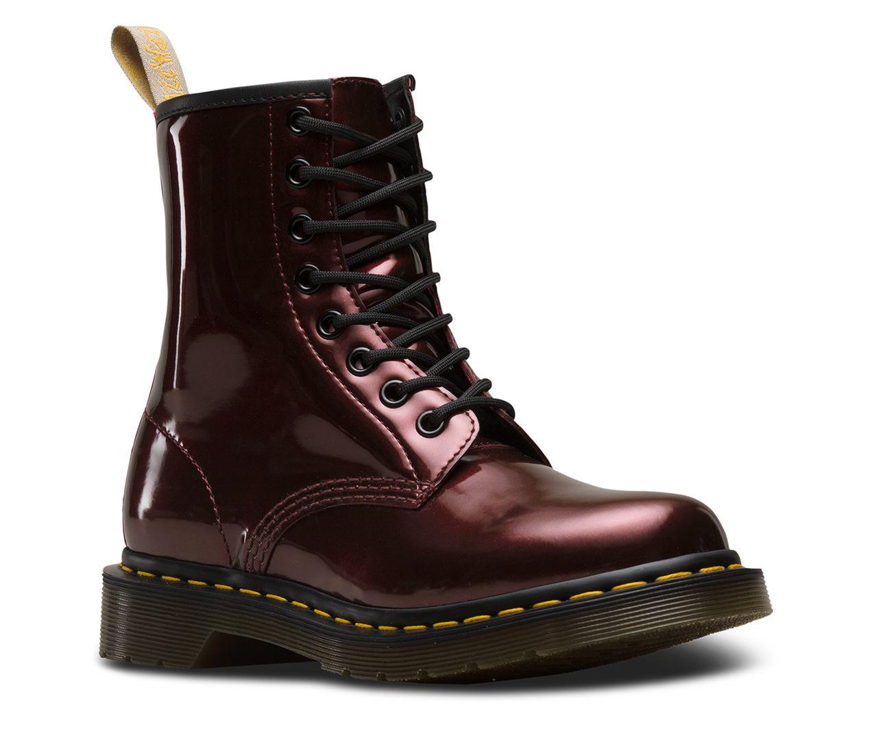 Dr. Martens 1460 Vegan Chrome Boot | Boots, Doc martens, Doc