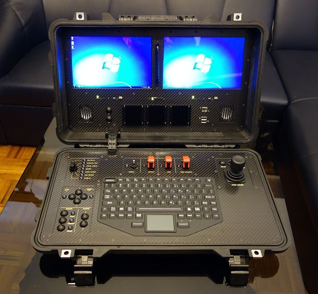 rugged UAV ground control station 1 | Drone Tech and ...
