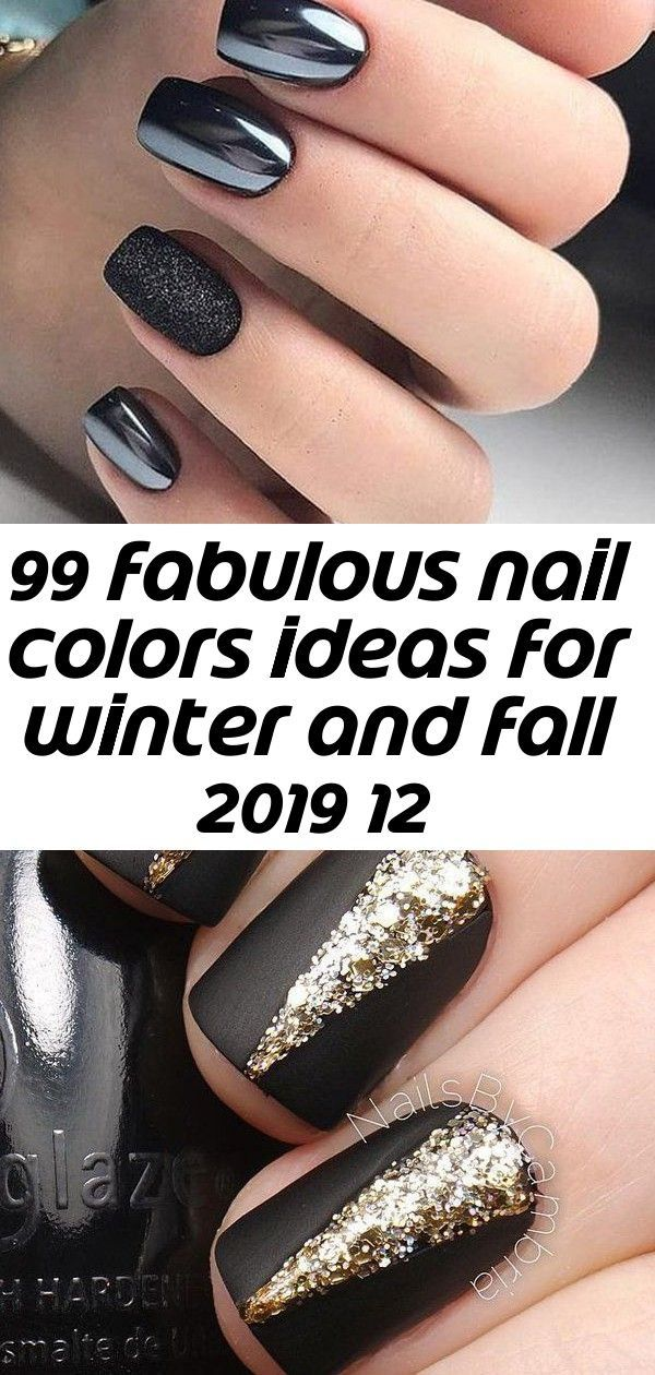 99 fabulous nail colors ideas for winter and fall 2019 12