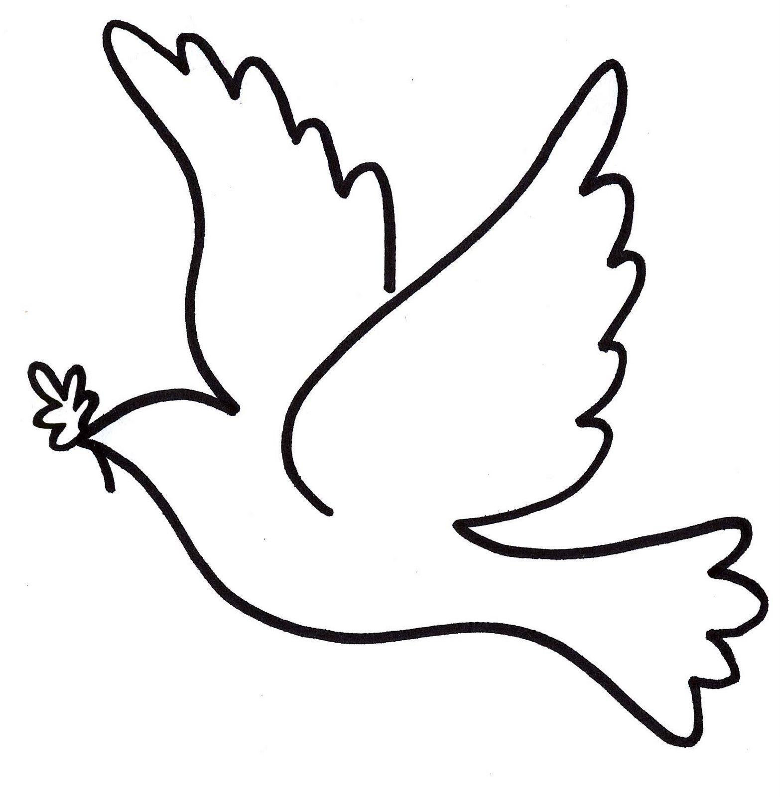 Resultado de imagen para dibujos de palomas para imprimir ...