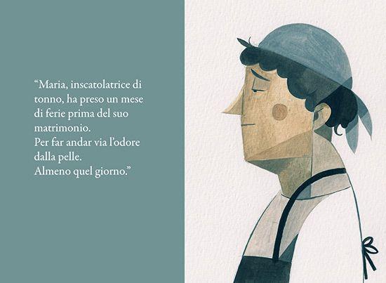 micronarrativa   by Andrea Maggiolo and illustrations by Riccardo Guasco